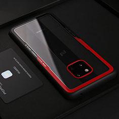 Funda Silicona Goma de Cuero Carcasa S02 para Huawei Mate 20 RS Rojo