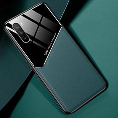 Funda Silicona Goma de Cuero Carcasa S04 para Huawei Mate 40 Lite 5G Verde