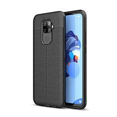Funda Silicona Goma de Cuero Carcasa S05 para Huawei Mate 30 Lite Negro