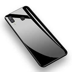 Funda Silicona Goma Espejo M01 para Samsung Galaxy A9 Star SM-G8850 Negro