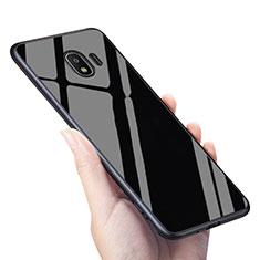 Funda Silicona Goma Espejo para Samsung Galaxy J2 Pro (2018) J250F Negro
