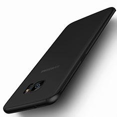 Funda Silicona Goma Mate para Samsung Galaxy S7 Edge G935F Negro