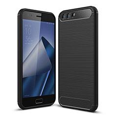 Funda Silicona Goma para Asus Zenfone 4 ZE554KL Negro