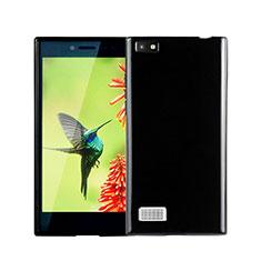 Funda Silicona Goma para Blackberry Leap Negro
