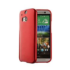 Funda Silicona Goma para HTC One M8 Rojo