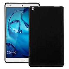 Funda Silicona Goma para Huawei MediaPad M3 Negro