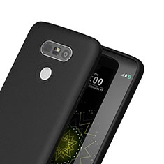Funda Silicona Goma para LG G5 Negro