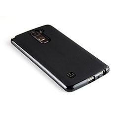 Funda Silicona Goma para LG Stylus 2 Plus Negro