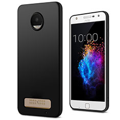 Funda Silicona Goma para Motorola Moto Z Play Negro