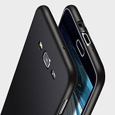 Funda Silicona Goma para Samsung Galaxy A7 Duos SM-A700F A700FD Negro