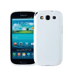 Funda Silicona Goma para Samsung Galaxy S3 i9300 Blanco