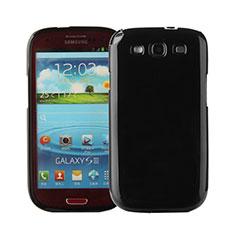Funda Silicona Goma para Samsung Galaxy S3 III LTE 4G Negro
