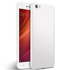 Funda Silicona Goma para Xiaomi Redmi Note 5A Standard Edition Blanco