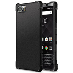 Funda Silicona Goma TPU para Blackberry KEYone Negro