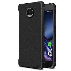 Funda Silicona Goma TPU para Motorola Moto Z2 Play Negro