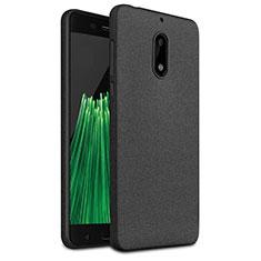 Funda Silicona Goma TPU para Nokia 6 Negro