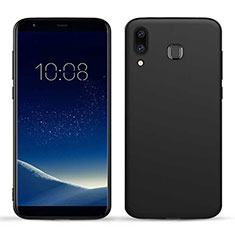 Funda Silicona Goma TPU para Samsung Galaxy A9 Star SM-G8850 Negro