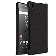 Funda Silicona Goma TPU para Sony Xperia XA1 Plus Negro