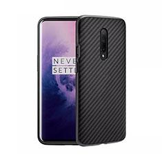 Funda Silicona Goma Twill B02 para OnePlus 8 Negro