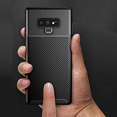 Funda Silicona Goma Twill B02 para Samsung Galaxy Note 9 Negro