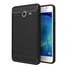 Funda Silicona Goma Twill para Samsung Galaxy J5 (2017) Version Americaine Negro