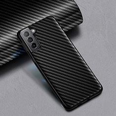 Funda Silicona Goma Twill para Samsung Galaxy S21 5G Negro