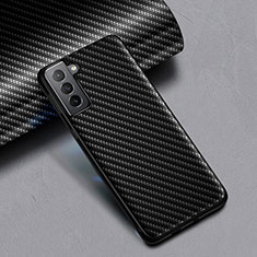 Funda Silicona Goma Twill para Samsung Galaxy S21 Plus 5G Negro