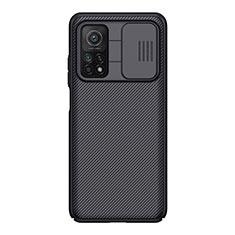 Funda Silicona Goma Twill para Xiaomi Mi 10T 5G Negro