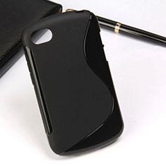 Funda Silicona S-Line para Blackberry Q10 Negro