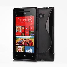 Funda Silicona S-Line para HTC 8X Windows Phone Negro