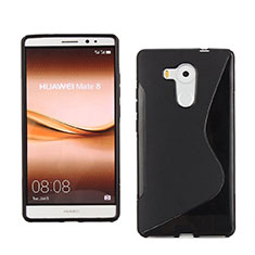 Funda Silicona S-Line para Huawei Mate 8 Negro