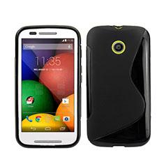 Funda Silicona S-Line para Motorola Moto E XT1021 Negro