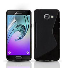 Funda Silicona S-Line para Samsung Galaxy A3 (2016) SM-A310F Negro