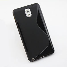Funda Silicona S-Line para Samsung Galaxy Note 3 N9000 Negro