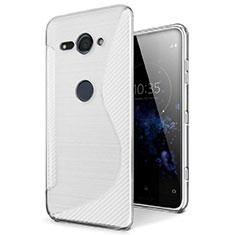 Funda Silicona Transparente S-Line Carcasa para Sony Xperia XZ2 Compact Claro