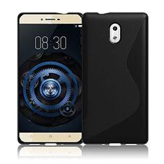 Funda Silicona Transparente S-Line para Nokia 3 Negro