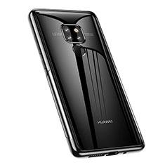 Funda Silicona Ultrafina Carcasa Transparente A02 para Huawei Mate 20 Negro