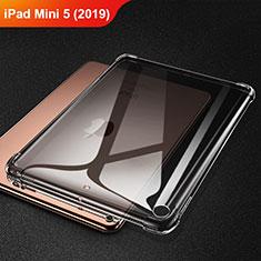 Funda Silicona Ultrafina Carcasa Transparente H01 para Apple iPad Mini 5 (2019) Gris