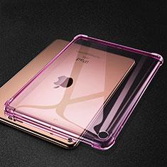 Funda Silicona Ultrafina Carcasa Transparente H01 para Apple iPad Mini 5 (2019) Rosa