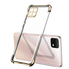 Funda Silicona Ultrafina Carcasa Transparente H01 para Huawei Enjoy 20 5G Oro