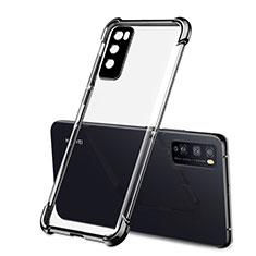 Funda Silicona Ultrafina Carcasa Transparente H01 para Huawei Enjoy 20 Pro 5G Negro