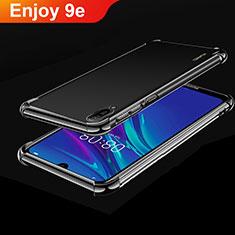 Funda Silicona Ultrafina Carcasa Transparente H01 para Huawei Enjoy 9e Negro