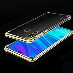 Funda Silicona Ultrafina Carcasa Transparente H01 para Huawei Enjoy 9s Oro