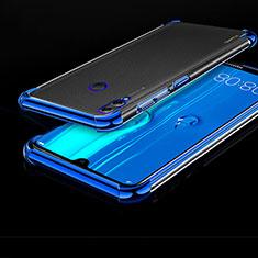 Funda Silicona Ultrafina Carcasa Transparente H01 para Huawei Enjoy Max Azul