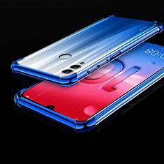 Funda Silicona Ultrafina Carcasa Transparente H01 para Huawei Honor 10 Lite Azul