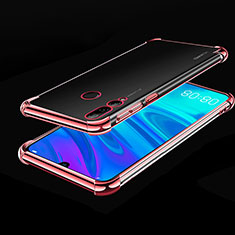 Funda Silicona Ultrafina Carcasa Transparente H01 para Huawei Honor 20 Lite Oro Rosa