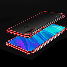 Funda Silicona Ultrafina Carcasa Transparente H01 para Huawei Honor 20 Lite Rojo