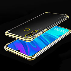 Funda Silicona Ultrafina Carcasa Transparente H01 para Huawei Honor 20i Oro