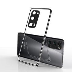 Funda Silicona Ultrafina Carcasa Transparente H01 para Huawei Honor 30 Pro Negro