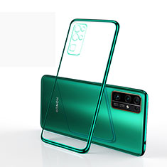 Funda Silicona Ultrafina Carcasa Transparente H01 para Huawei Honor 30 Verde